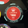 Crown Macau 100HKD Casino Chip