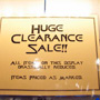 Huge Clearance Sale!!