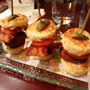 Bacon Sliders at FIX
