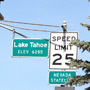 Lake Tahoe Elevation 6285