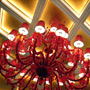 Lucky Red Chandelier at Wynn Macau